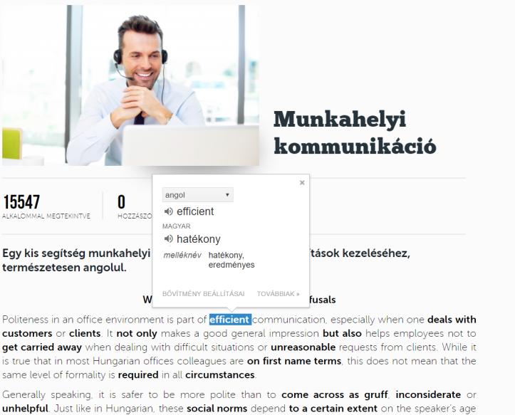 Google translator alkalmazás chromeban
